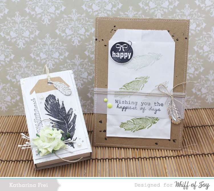 WhiffofJoy_Feather_matchbox card