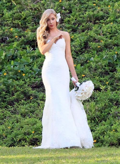 Leah Felder Hot Wedding Photos 6