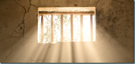 sunlight in jail cell