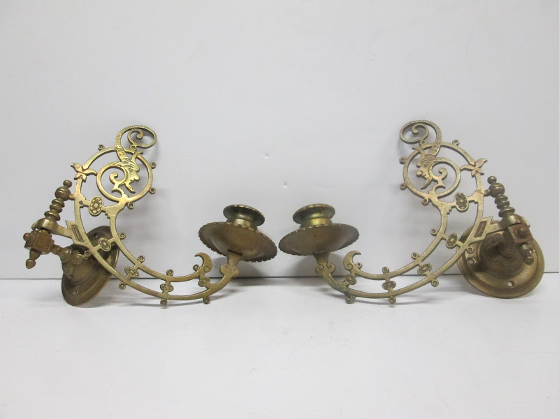 Pair of Wall Taper Holders