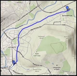 map bathampton