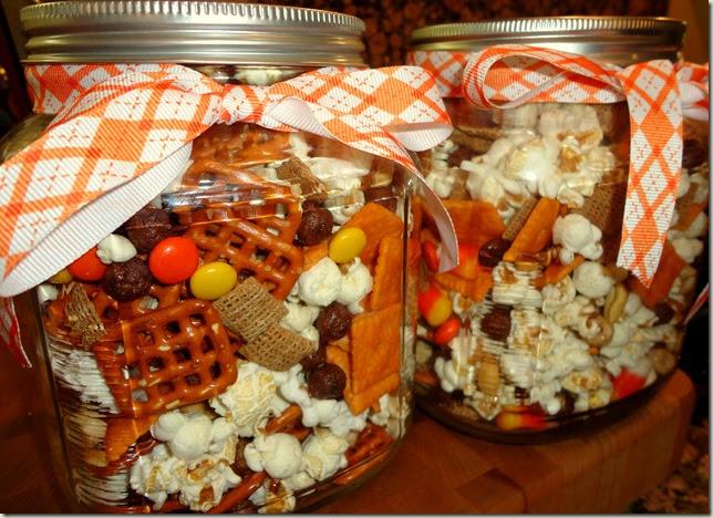 Thanksgiving snack mix brave soul