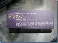 0927 Alberta Calgary - Heritage Park Historical Village - Gasoline Alley Museum - c. 1935 Austin Seven 'Nippy'