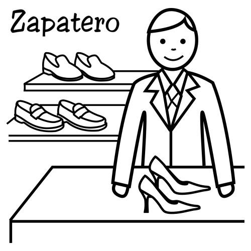Zapatero para colorear imagui for Imagenes de zapateros