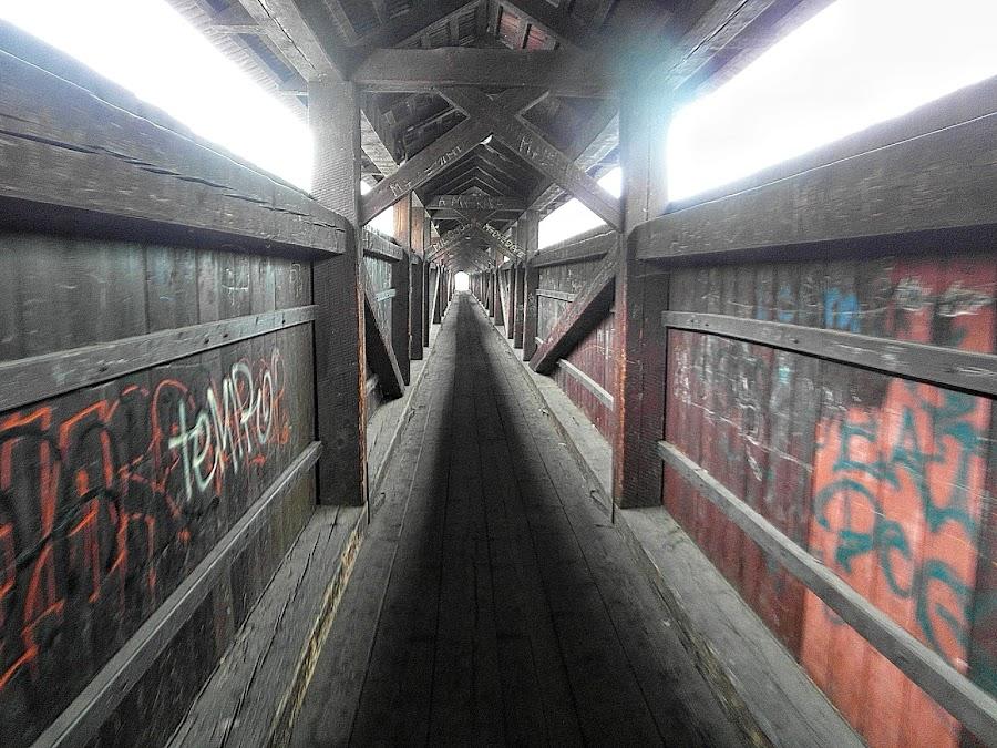 Пешеходный мост через Влтаву