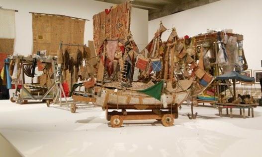L'esposizione delle opere di Arthur Bispo alla Biennale di Venezia