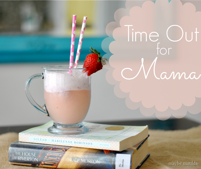 Add sparkle to your day by taking a much needed Mom's time out.