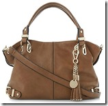 Dune Tan Tassel Bag