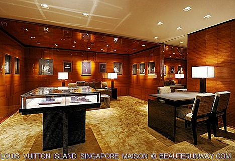 Louis Vuitton Island Singapore WAtch and Jewellery Universe Gallery