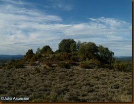 Túmulo del dolmen de Piedra Blanca - Navascués