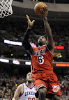 lebron james nba 130223 mia at phi 01 LeBron Debuts Prism Xs As Miami Heat Win 13th Straight