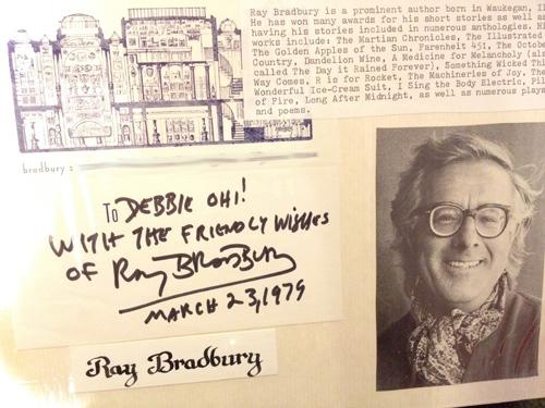 RayBradbury autograph sm