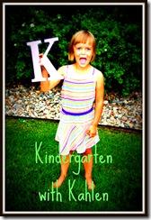 Kindergarten with Kahlen