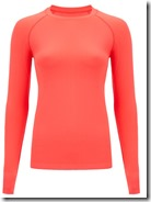 Sweaty Betty Orange Long Sleeve Top