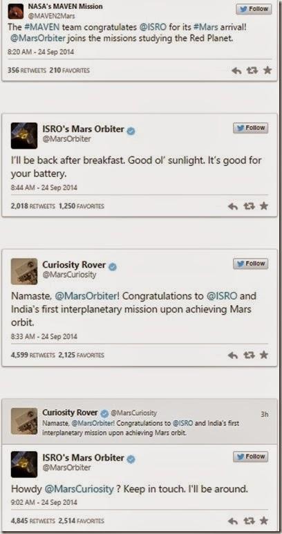 MAVEN-MOM-Curiosity-tweet-greets