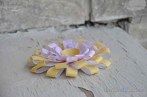 chrysanthemum paper flower 2