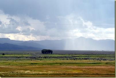 Heavy Rain on way to Bryce