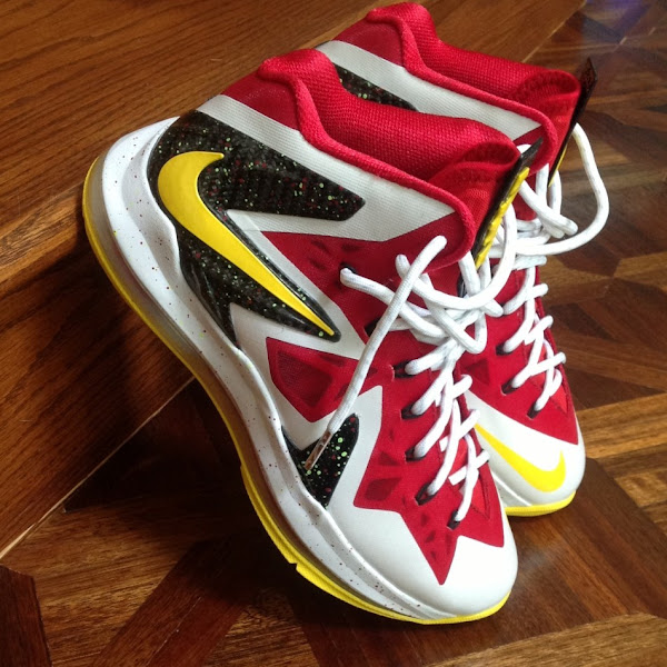LeBron X Elite MVP iD Inspired by Last Year8217s Unreleased Colorway