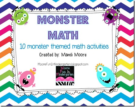 MonsterMath_10MathActivities