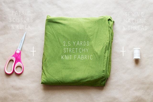 Cheap DIY Moby Wrap