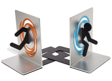 Portal Bookends from ThinkGeek.com