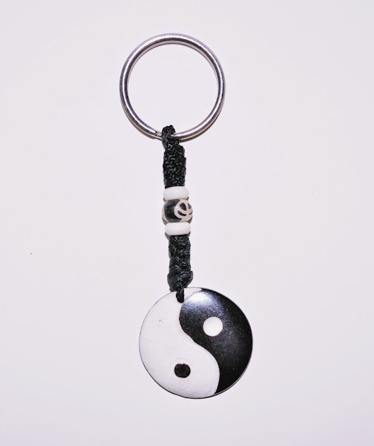 Peace Bone Keyring