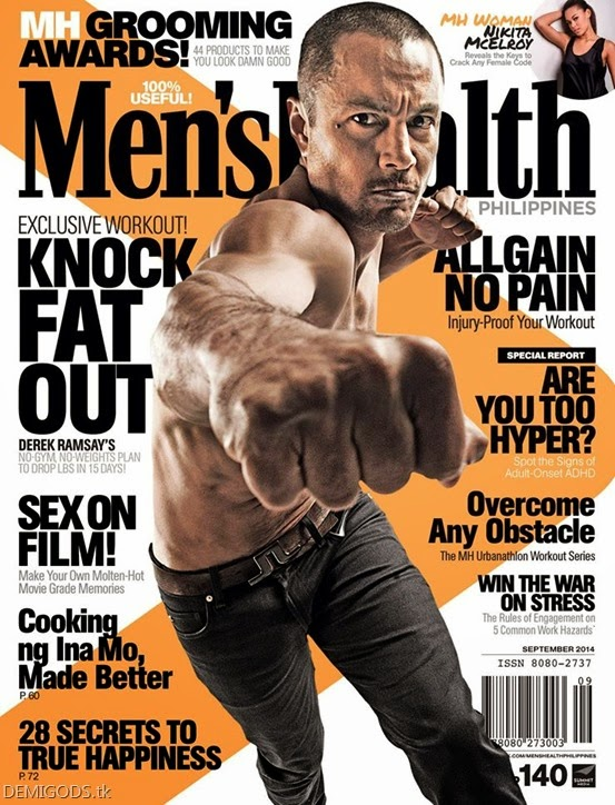 Derek Ramsay Men's Health Philippines September 2014