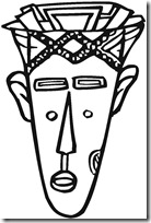 máscaras de aborigenes australianos (1)