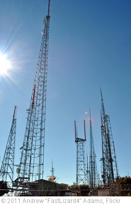 'Radio Transmission Towers Atop Mt. Wilson' photo (c) 2011, Andrew