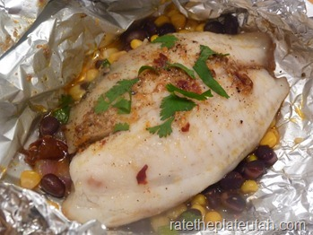 Fish Chipotle Butter Foil Packets