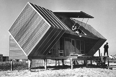 The Hunt House, Ocean Bay Park, Fire Island, NY, 1958