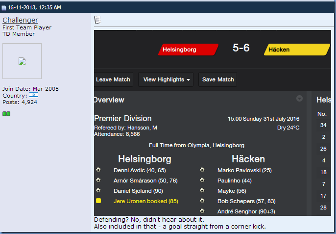 Poor Defending in FM 2014