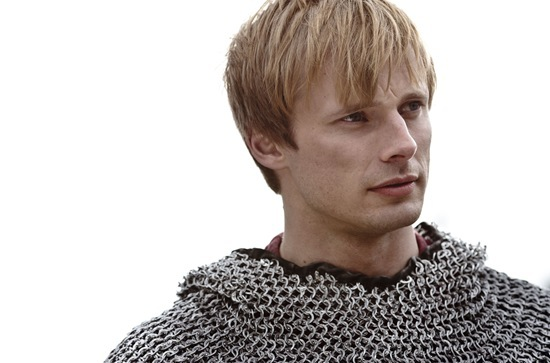 Bradley James is Arthur
