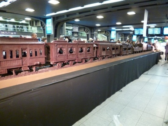 Trem de chocolate Belga 02