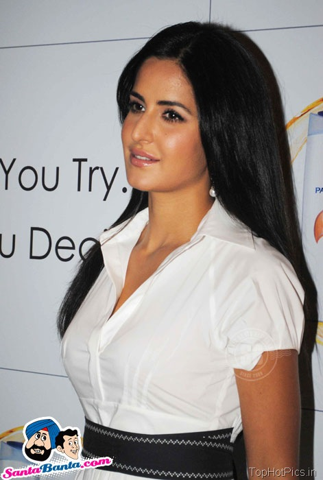 Katrina Kaif Hot Stills in White Stylish Dress 1