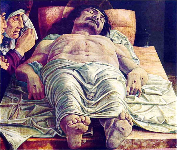 Mantegna, Le Christ mort