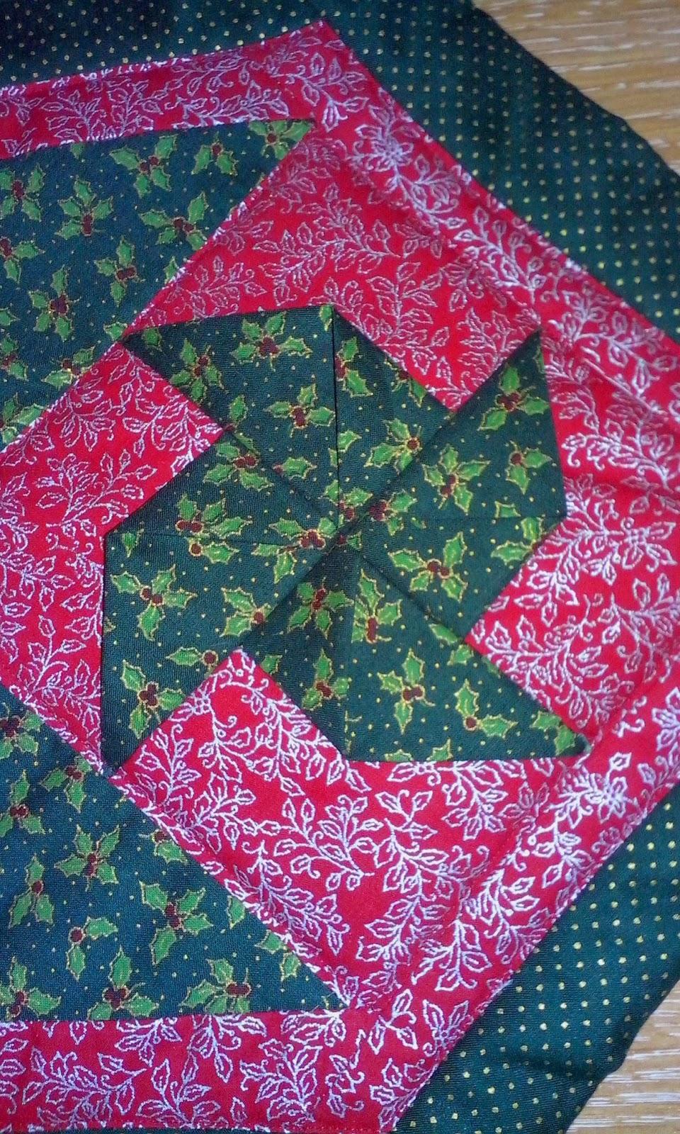Mi vida entre telas camino de mesa - Camino mesa patchwork ...