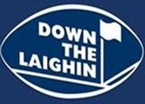 down the laighin