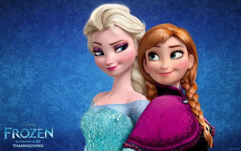 Frozen Elsa And Anna 1280x800