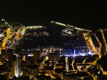 35. Portul Monaco noaptea - Coasta de Azur.JPG