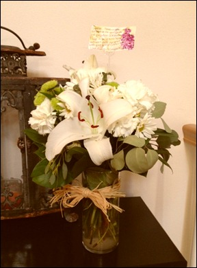 Pride and Prejudice night flowers