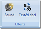 Effects สำหรับเพิ่มเติมในแบบทดสอบ