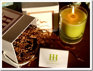 My Privet Candle from Hound Hill Design