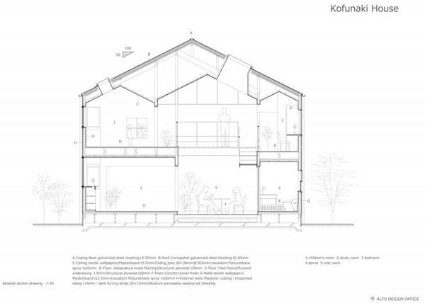 Reidencia con Arquitectura Japonesa 9