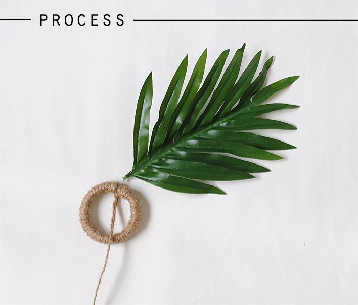zara home knockoff leaf napkin rings process2