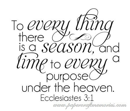 Ecclesiastes 3:1 WORDart by Karen for WAW personal use