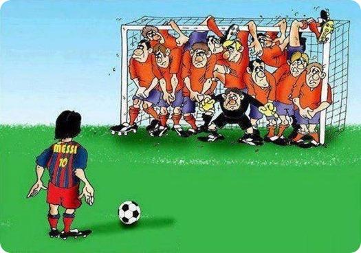 Como Parar o Messi