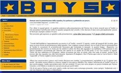boys su presentazione