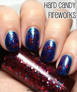 Hard Candy Fireworks over Bitty Blue