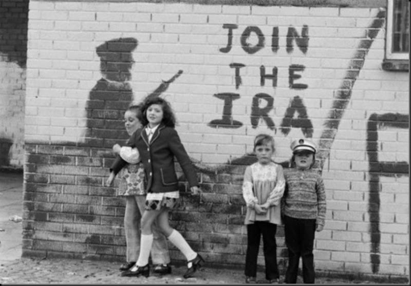 Bogside, Derry, Northern Ireland, 1976, Christine Spengler